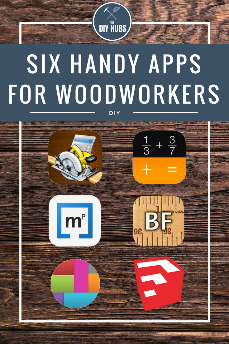 Here are six handy woodworking apps to help maximize your time and make your product efficient!